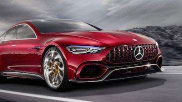 Mercedes AMG-GT, mais de 800cv para combater o Panamera
