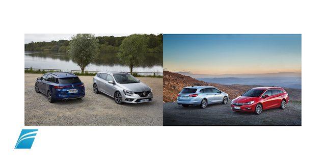Qual é a melhor break? O Renault Megane ou o Opel Astra?