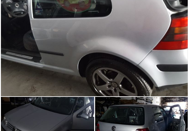 Volkswagen Golf IV roubado