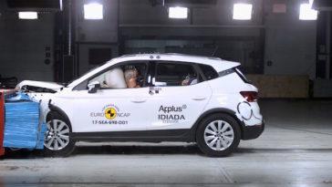 Euro NCAP. Cinco estrelas para o Seat Arona