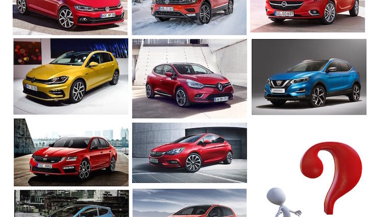 Lista dos 10 carros mais vendidos na Europa