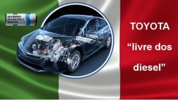 Carros Diesel da Toyota deixam de ser vendidos na Europa