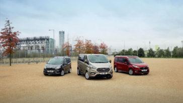 Família Ford Tourneo no Salão Automóvel de Bruxelas