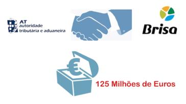 Finanças deixaram de cobrar à Brisa 125 milhões de euros