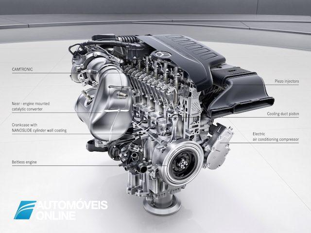 Motor V6 AMG