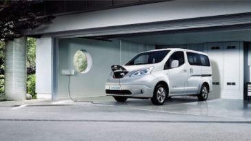 Nissan e-NV200 100% eléctrico