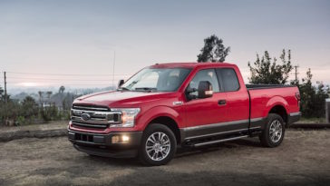 Pick-up Ford F-150 com motor diesel