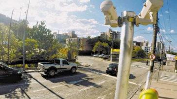 Radares de medição de emissões em Madrid