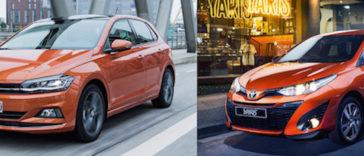 Toyota Yaris ou VW Polo. Qual é a melhor escolha?