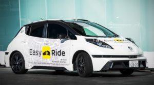 Easy Ride serviço de táxis robô