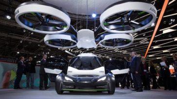 Airbus, Audi e a Italdesign juntos pelo futuro do carro voador