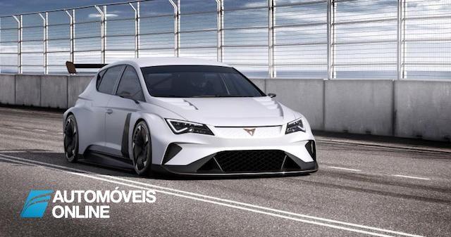 CUPRA e-Racer 100% eléctrico vai participar no TCR Series