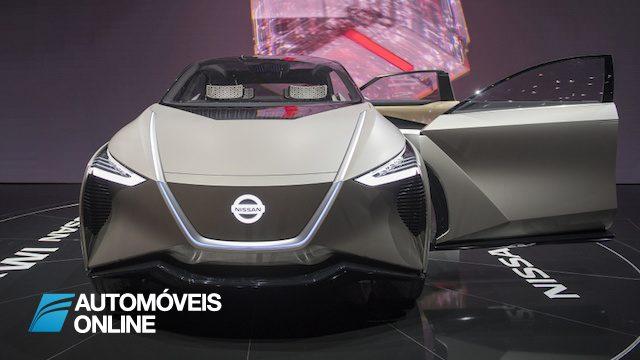 IMx KURO e o concept de crossover electrico e autonomo da Nissan