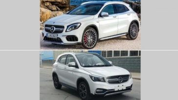 K One é o Mercedes GLA copiado na China