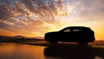 Toyota RAV4 esta é a primeira imagem da nova geração deste SUV