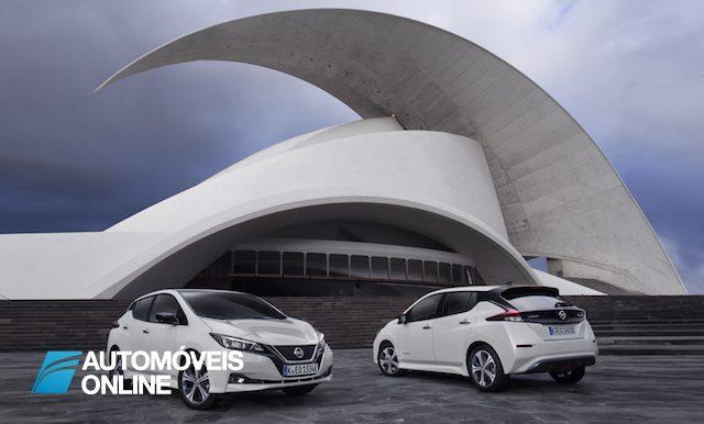 2ª geração do Nissan LEAF já chegou a Portugal