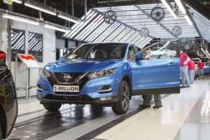 3 MILLIONTH QASHQAI PRODUCTION SUNDERLAND