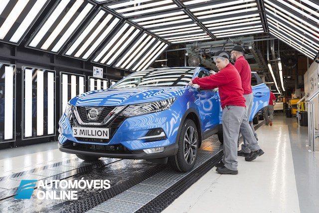 Nissan festeja os 3 milhões de Qashqai vendidos