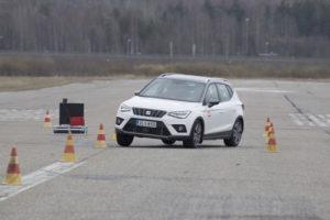 Seat Arona Teste Cinto de Segurança