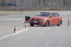 VW Polo Teste Cinto de Segurança