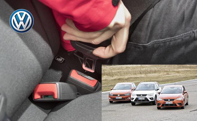 Volkswagen em apuros. Cintos de segurança defeituosos