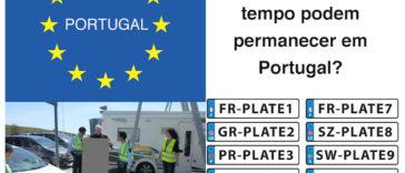 Carros com matricula estrangeira - Quanto tempo podem permanecer em Portugal