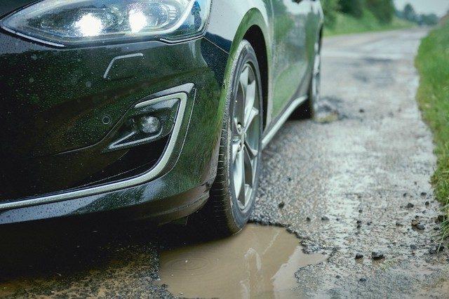 Detector de buracos no novo Ford Focus