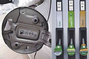 Não se engane no abastecimento. Combustíveis têm novos símbolos