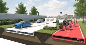Estradas de plástico - Holanda