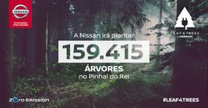 Nissan ajuda a plantar 159 415 pinheiros no Pinhal do Rei