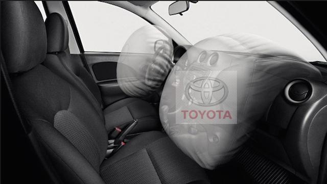 Problema nos airbags afeta um milhão de Toyotas