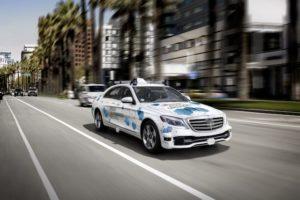 Táxi Autónomo, Bosch e Daimler