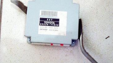 Análise de unidade de controlo Toyota