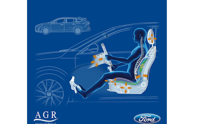 Bancos do novo Ford Focus aprovado por médicos fisioterapeutas