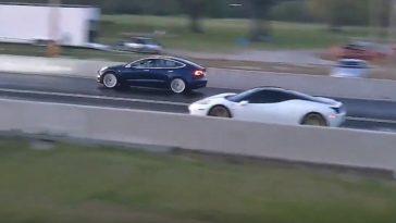 Tesla Model 3 vence Ferrari 458. Não acredita?