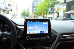 KoMoD. Ford ajuda-o a encontrar estacionamento com lugares disponíveis