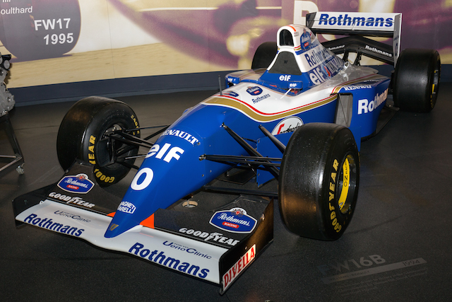 Williams FW16B de Ayrton Senna