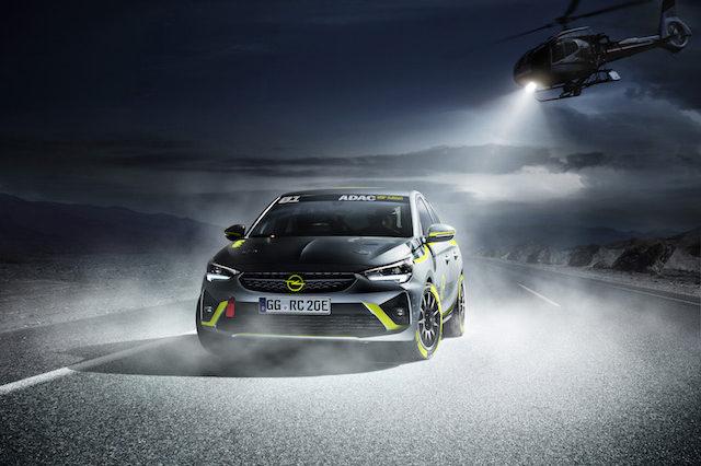 Opel Corsa-e Rally é o primeiro carro eléctrico para rally