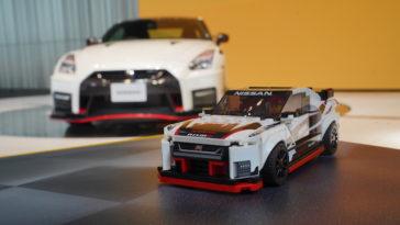 Nissan GT-R NISMO em LEGO®