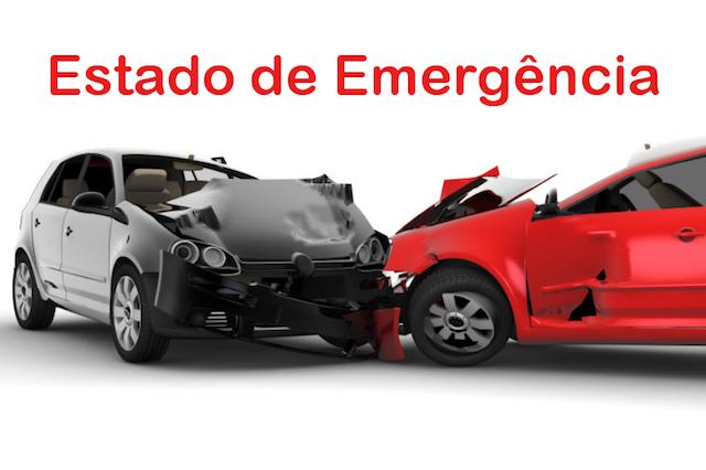 Em Estado de emergência se tiver um acidente viação o seguro funciona?