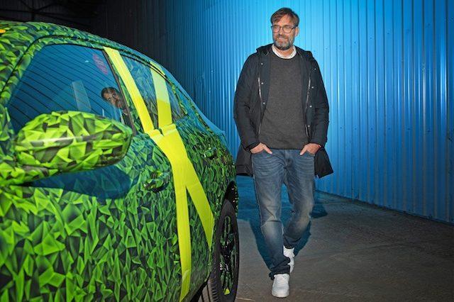 Novo Opel Mokka já foi conduzido por Jürgen Klopp