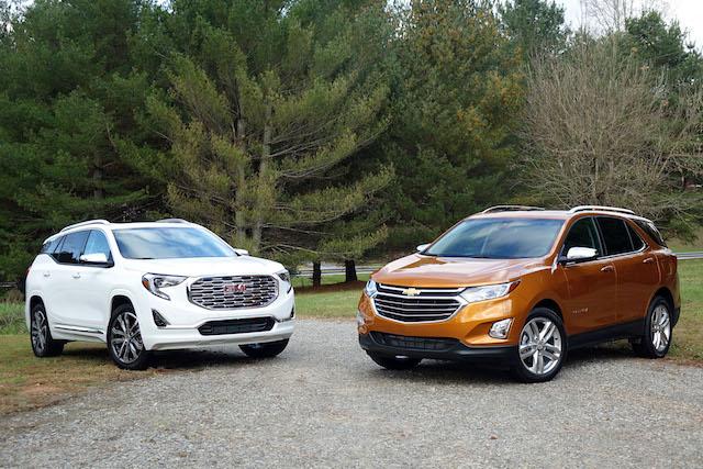 Chevrolet Equinox e GMC Terrain