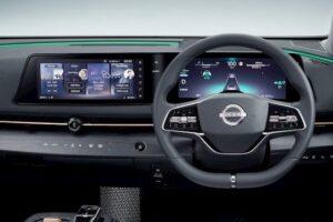 Nissan Ariya painel de bordo