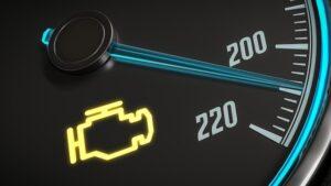 Luz de motor acesa: Como reagir correctamente quando ela não apaga?