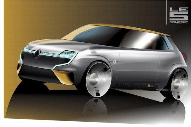 Versão renovada do icónico Renault R5. Gostas? | Automoveis-Online